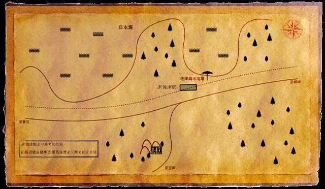 三田Base01の地図